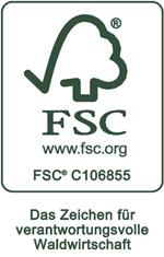 Wir sind FSC®-zertifiziert – aus gutem Grund